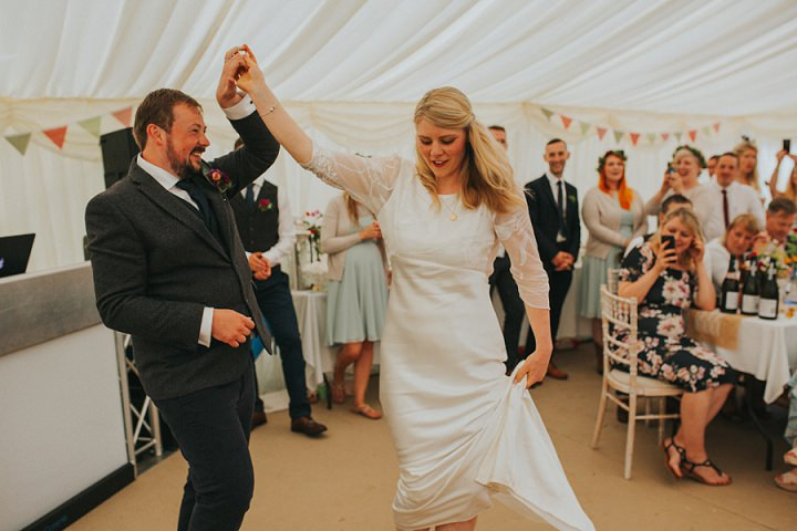 Amanda andMatthew'sBBQ Loving Rainy North Yorkshire Wedding by A Little Picture Photography