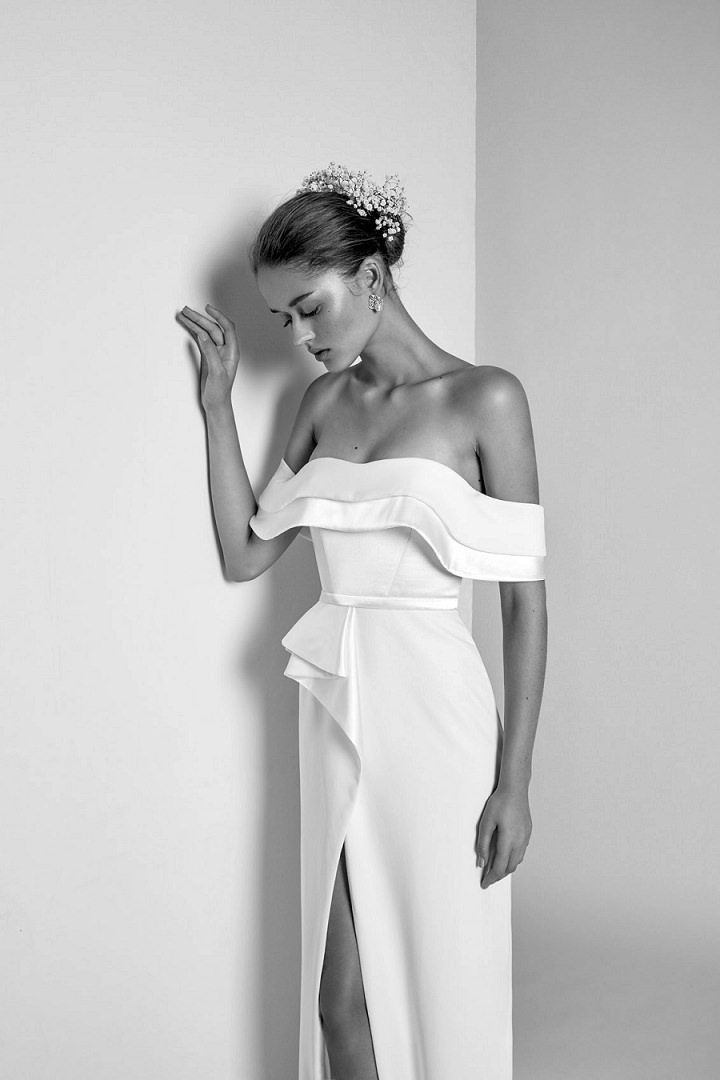 Bridal Style: Livné White's Wild Orchid Bridal Collection - 'Effortlessly Modern'