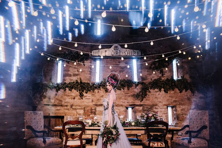 'French Renaissance Meets Boho Chic' Grey, Marble and Violet Wedding Inspiration