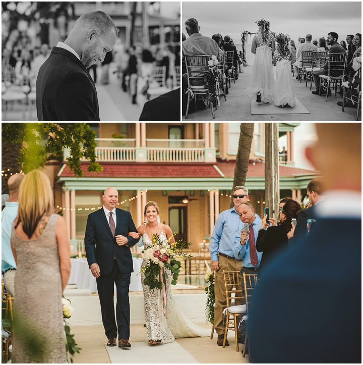 Kristen and Ben's Elegant Boho Meets Beach Wedding in Key West by Freas Photography