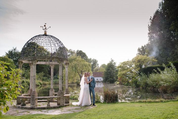 Alix and Tom's Pretty Pastel Garden Party Wedding in Dorset by Christine Wehrmeier