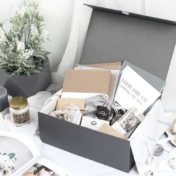 Boho Loves: White Wedding Box - The UK's First Luxury Collection of Themed Wedding Planning Boxes