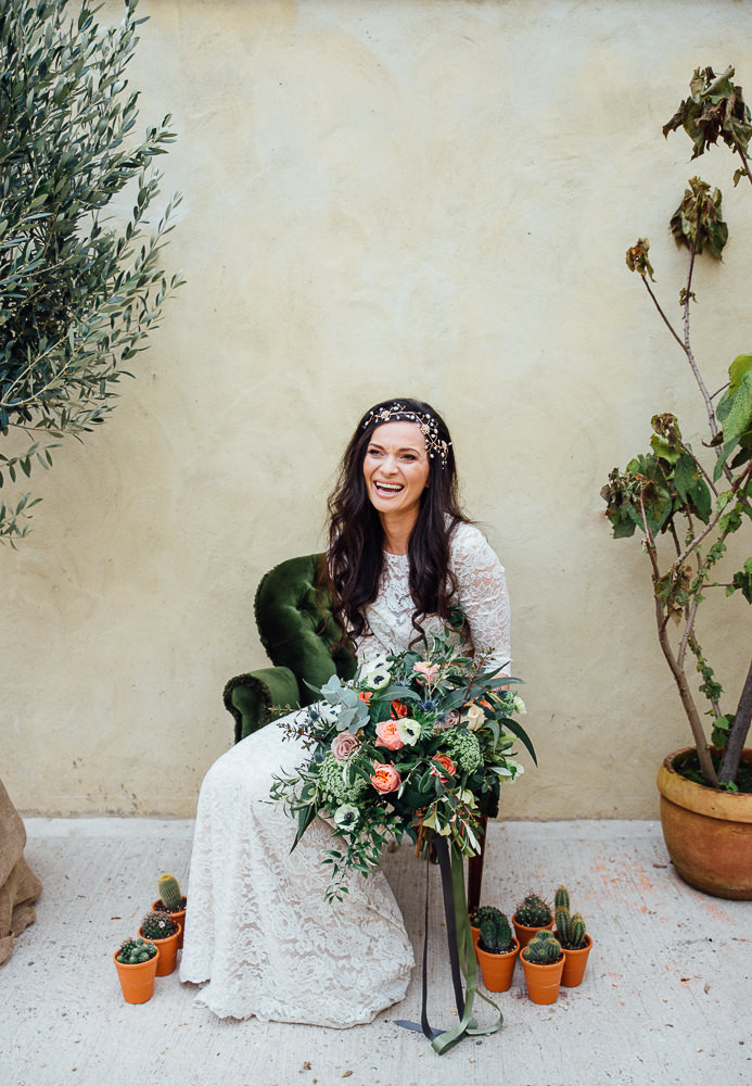 Copper and Cactus Wedding Inspiration for a Boho Chic Day