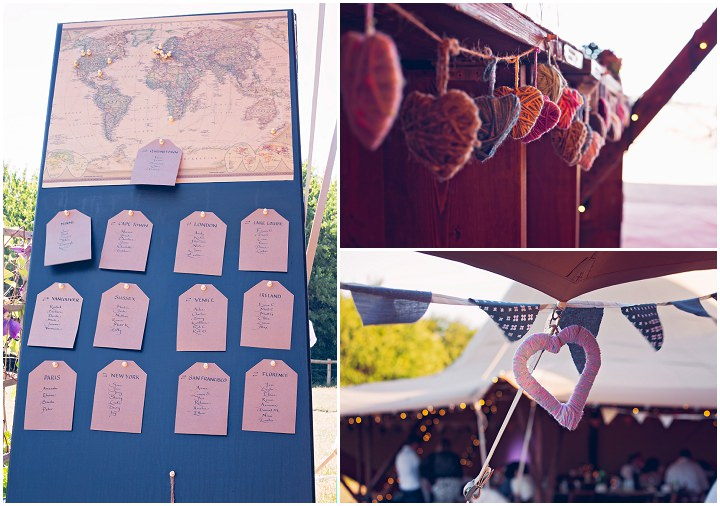 Terri and Jason's Travel Themed DIY Festival Wedding by BeMusa Photography