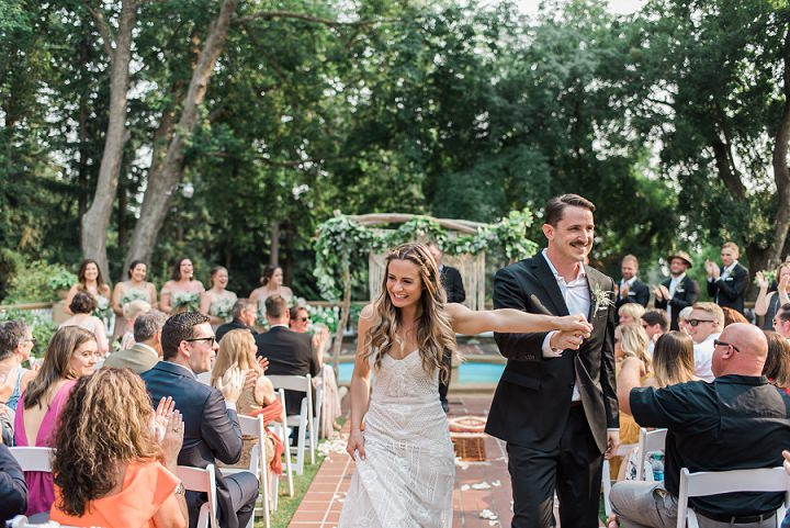 Kris and Alex's Greenery and Doughnuts Boho Chic Wedding Day by B.Jones Photography