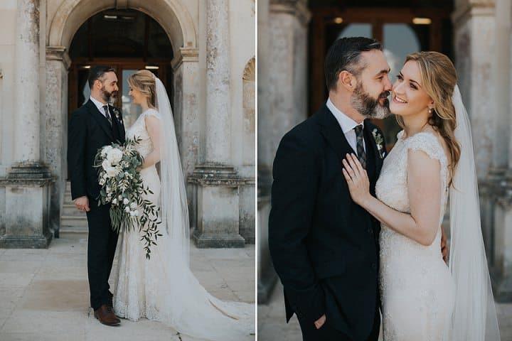Lyndsay and Steve's Botanical Themed Castle Wedding in Dorset by Kit Myers