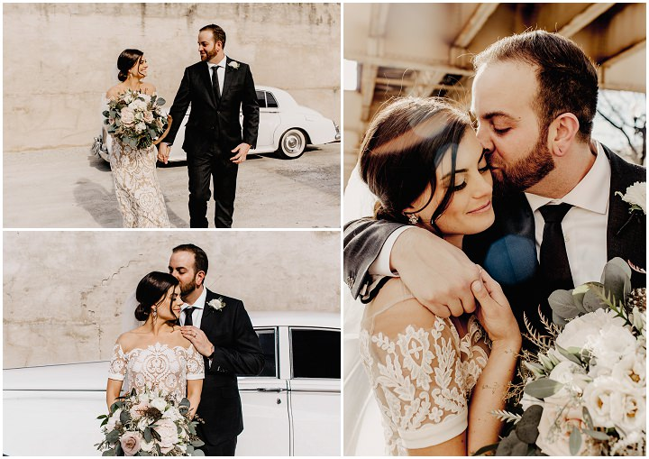 Kyle and Christen's Urban Chic Wedding in Chicago by Rachel Mae Photography