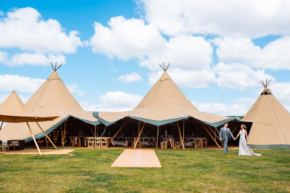 Elite Tents Tipi Open Weekend at Oldberrow House