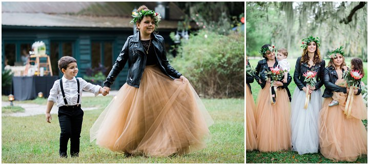Sol and German's 'Leather Jackets and Purple Hair', Rock n Roll DIY Wedding by Philip Casey Photography