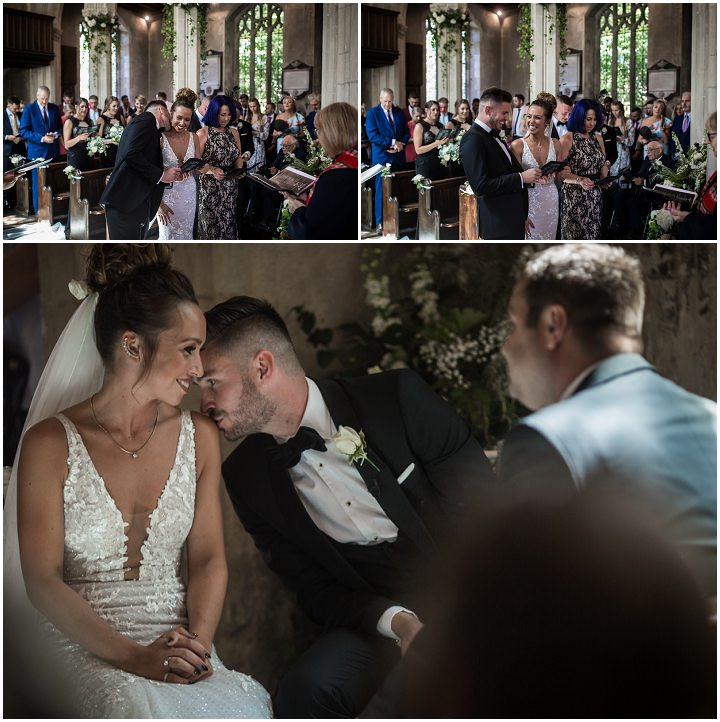 Jade and Craig's Elegant Black and Gold Super Stylish Suffolk Wedding by Him & Her Wedding Photography