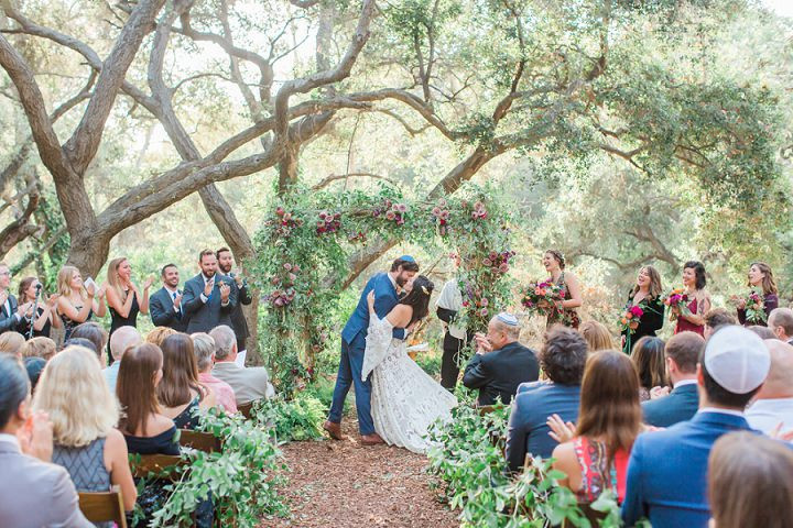 Courtney and Sam's Whimsical Meets Lord of the Rings Jewel Toned California Wedding by James and Jess