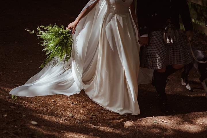 Pagan Wedding Dresses.Ally And Dave S Woodland Pagan Wedding In The Scottish Borders By