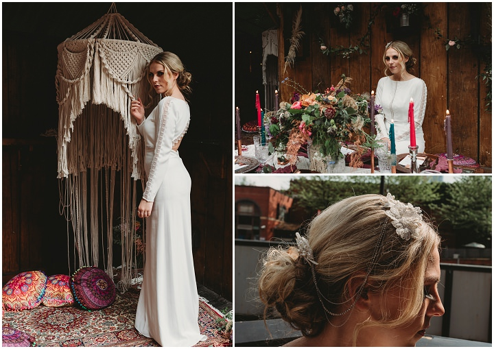 Free Spirited Wedding Inspiration - Bohemian Meets Urban Industrial