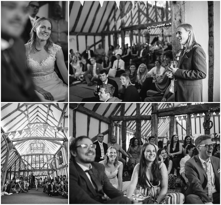 Frances and Joshua's Lavender, Rosemary and Hessian Essex Farm Wedding by Amy Jordison