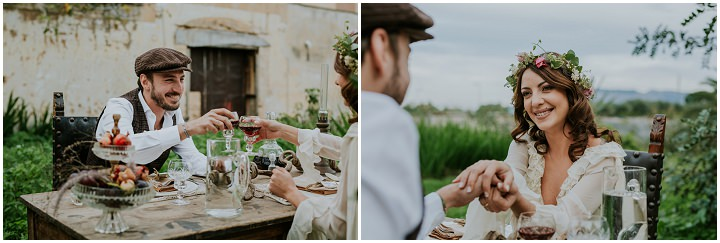 Timeless Bohemain Wedding Inspiration from Sicily