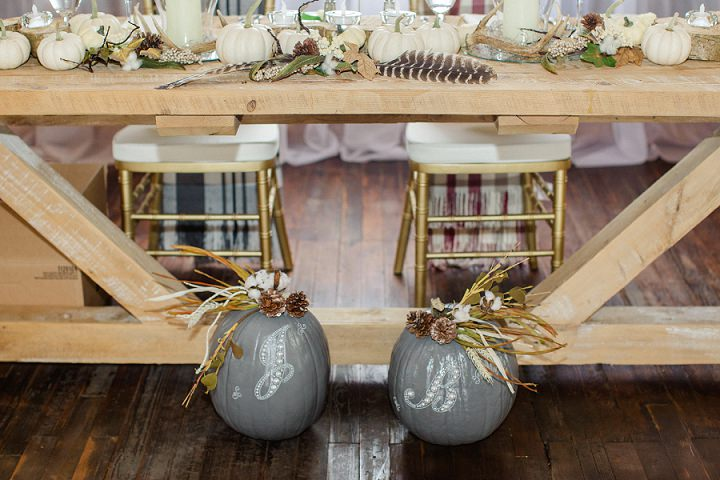 Jill and Brian's Pumpkin Filled Outdoor Autumn Wedding in Pennsylvania by Jordan DeNike Photography