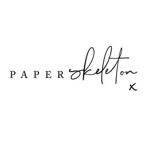 Boho Loves: Paper Skeleton - Creative Stationery For The Style Conscious Couple