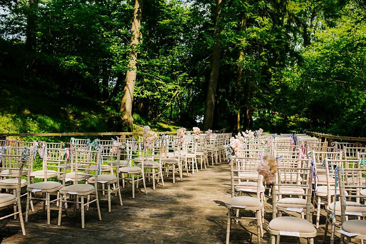 Mary and Sam's Festival Meets Village Fete Bright and Fun Dorset Wedding by Nick Rutter Photography