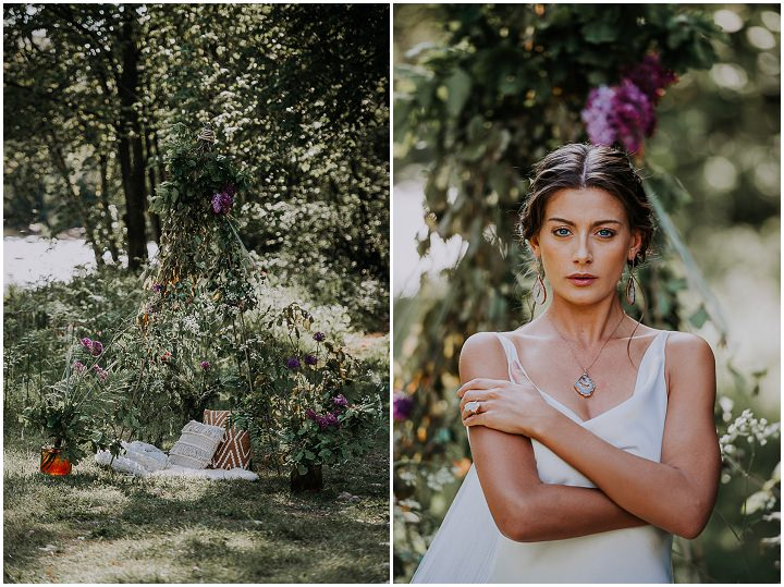 'For The Earth' Wedding Inspiration For The Eco Conscious Couple
