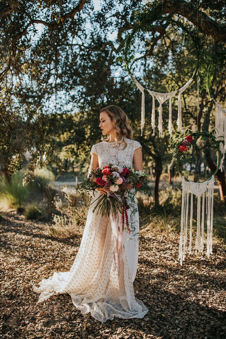 'Bohemian Beauty in Portugal' - An Intimate Moroccan Inspired Elopement Shoot