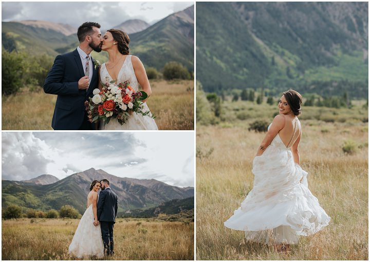 Erin and Bill's Intimate Colorado Mountain Wedding by Simply Love
