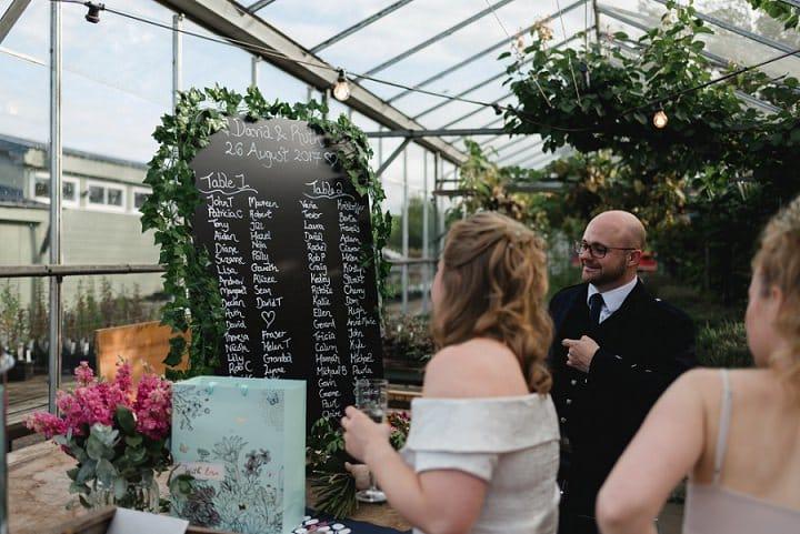 Ruth and David's Secret Herb Garden Wedding in Edinburgh by Mack Photo