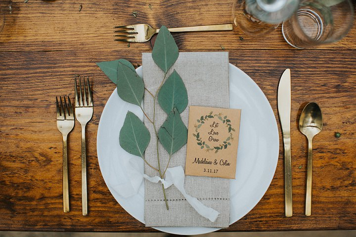 Madeleine and Colin's Greenery Filled Texan Wedding at Home by Grant Daniels Photography