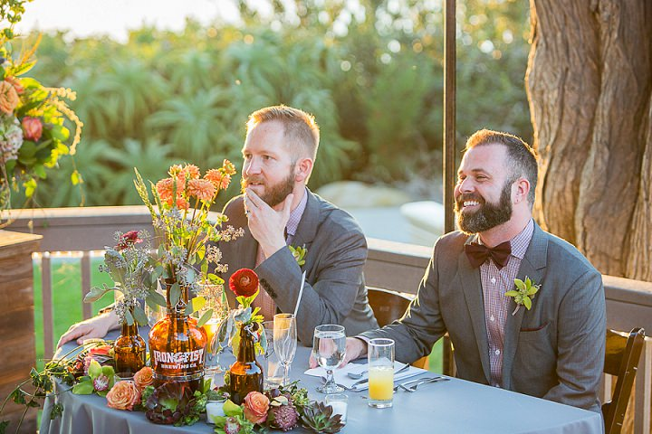Kevin and Robert's Beer Themed San Diego Wedding Overlooking the Sea by Eder Photo
