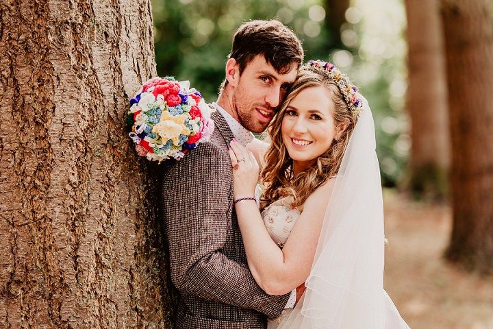 Erin and Mark's Bright and Beautiful 'More is More and Less is a Bore' Woodland Wedding by Ideal Imaging