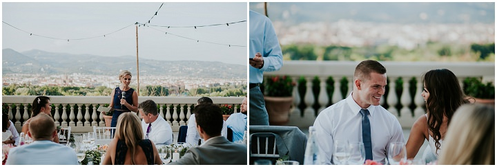 Christine and Zach's Elegant Food Loving Wedding in Florence by Gabriel Gastelum