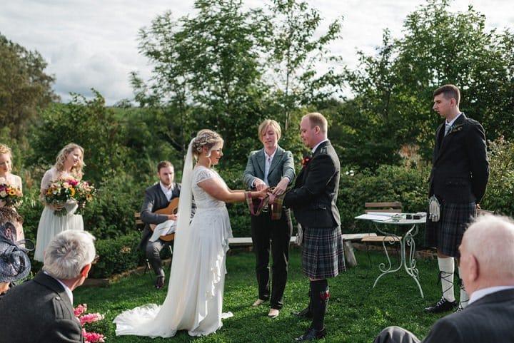 Ruth and David's Secret Herb Garden Wedding in Edinburgh by Mack Photo - Boho Weddings For the Boho Luxe Bride