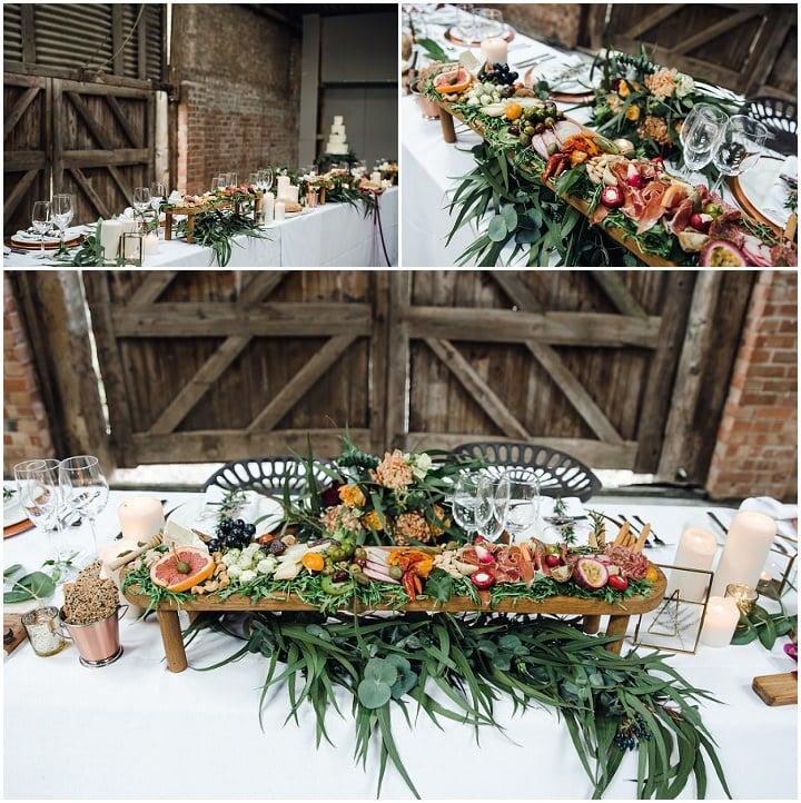 Rustic Barn Wedding Inspiration With a Glam Boho Twist
