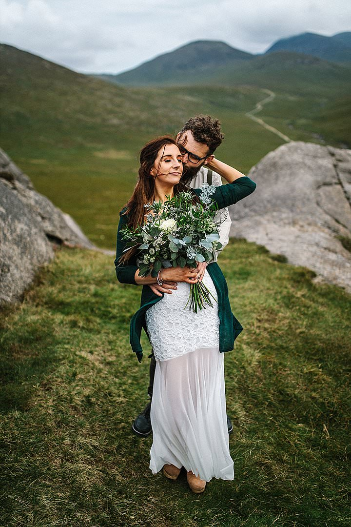 'Close Friends and Laughter' Adventurous Mountain Top Elopement Inspiration