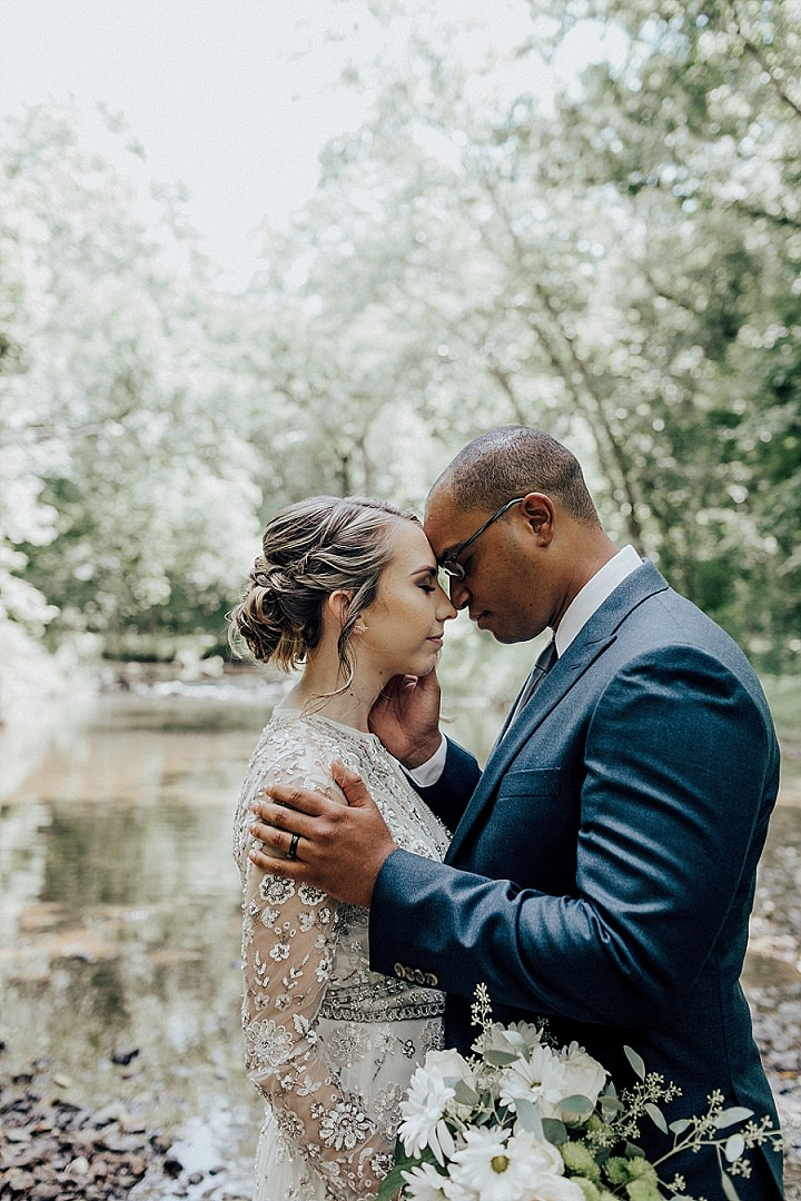 Maria and Damani's Intimate DIY Vegan Brunch Wedding by Shelly Pate Photography - Boho Weddings For the Boho Luxe Bride