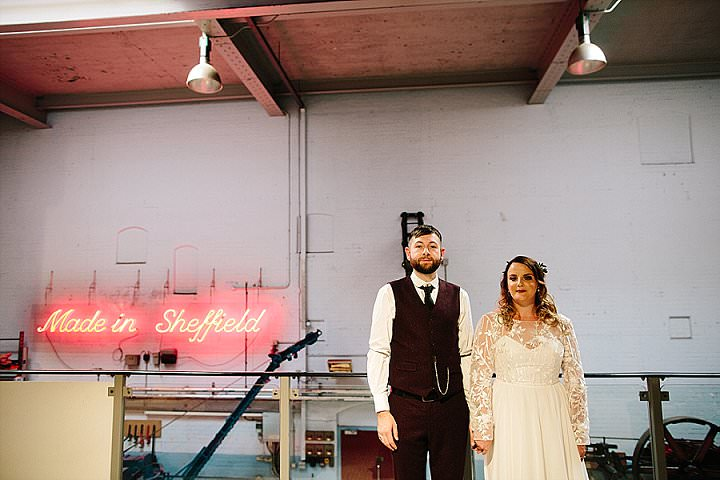 Perrie and Gregg's Sheffield Loving Museum Wedding by Dan Hough - Boho Weddings For the Boho Luxe Bride