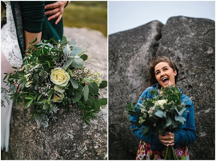 'Close Friends and Laughter' Adventurous Mountain Top Elopement Inspiration