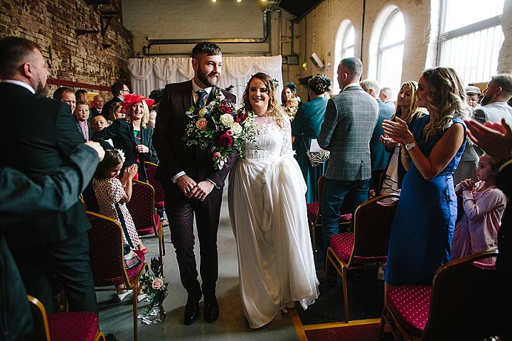 Perrie and Gregg'sSheffield Loving Museum Wedding by Dan Hough