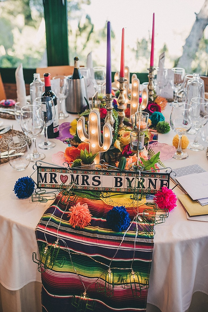 Laura and Lee's Bright and Beautiful Mexican themed Fiesta Wedding in Spain by Yana Photography - Boho Weddings For the Boho Luxe Bride
