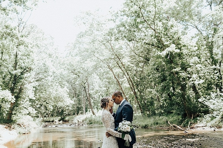 Maria andDamani's Intimate DIY Vegan Brunch Wedding by Shelly Pate Photography