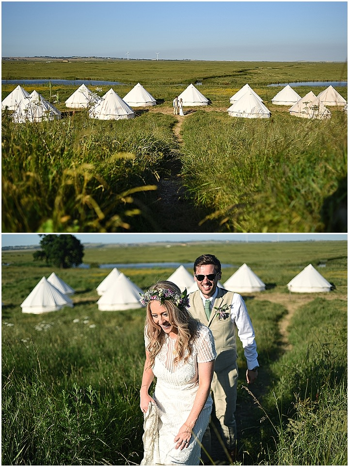 Becky and Alex's Homespun Relaxed and Rustic Boho Kent Wedding by Sophie Bowdler Photography