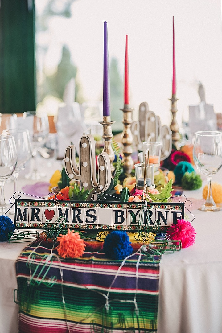 Laura and Lee\'s Bright and Beautiful Mexican themed Fiesta Wedding ...