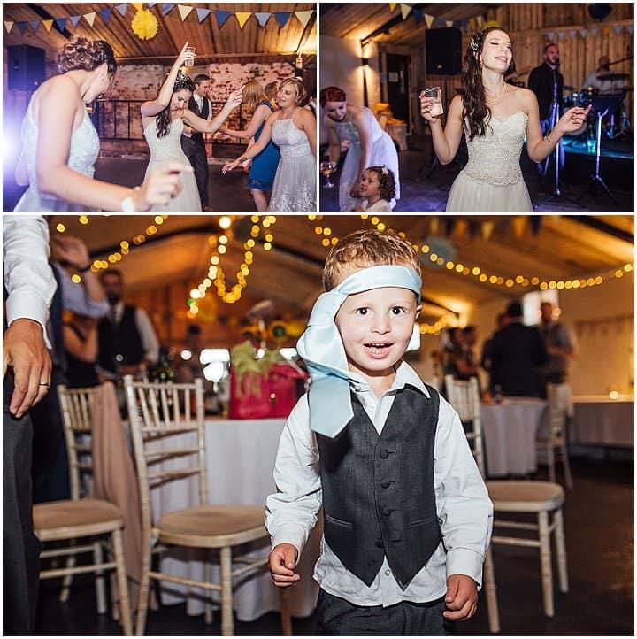 Charlotte and Tom's 'Sunflowers and Bouncy Castle' Music Loving Shrewsbury Weddingby Florence Fox
