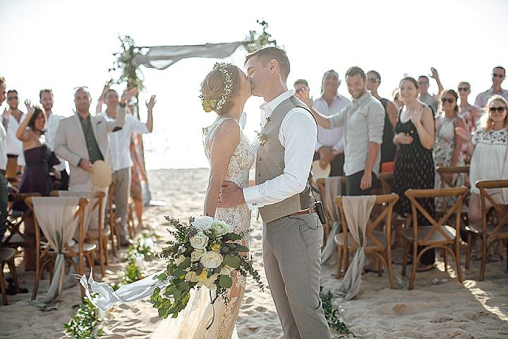 Emeline and Paul's Beautiful Boho Luxe Beach Wedding in Thailand by Wedding Boutique Phuket