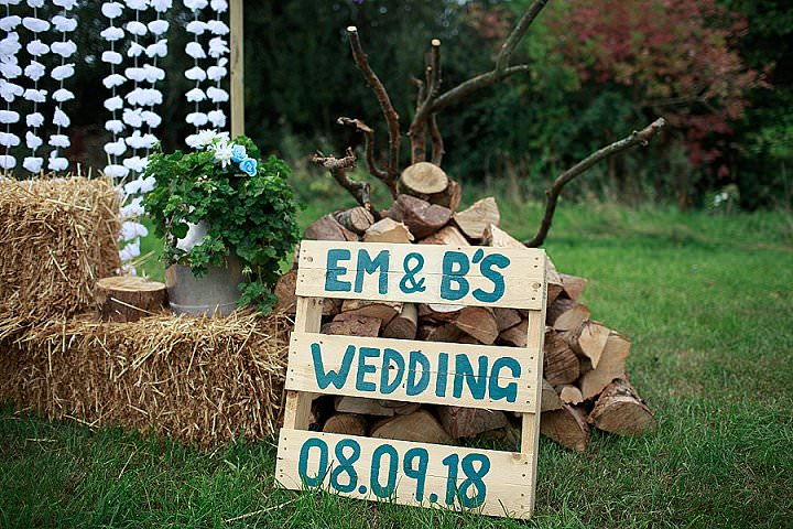 Emily and Benedict's Eco Friendly Festival Wedding in Devon with Glitter and Sausage Dogs by Sam Box Photography