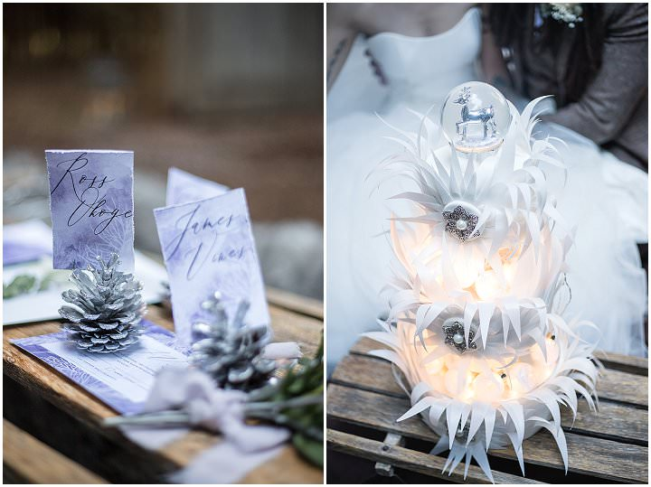 'Mystical Woodland' Narnia Inspired Winter Wedding Inspiration