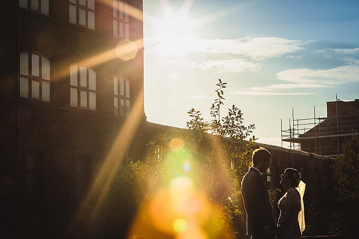 Donna-Marie and Stephen's 'Made in Sheffield' Industrial meets Vintage Wedding by Mark Tierney