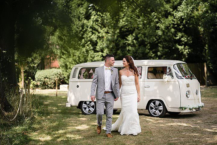 Riona and Matthew's Festival Themed Homemade Surrey Wedding by Real Simple Photography