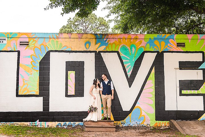 Lindsay and Nathan's 'Tacos and Doughnuts' Colourful Texas Theatre Wedding by Nate Messarra Photography - Boho Weddings For the Boho Luxe Bride