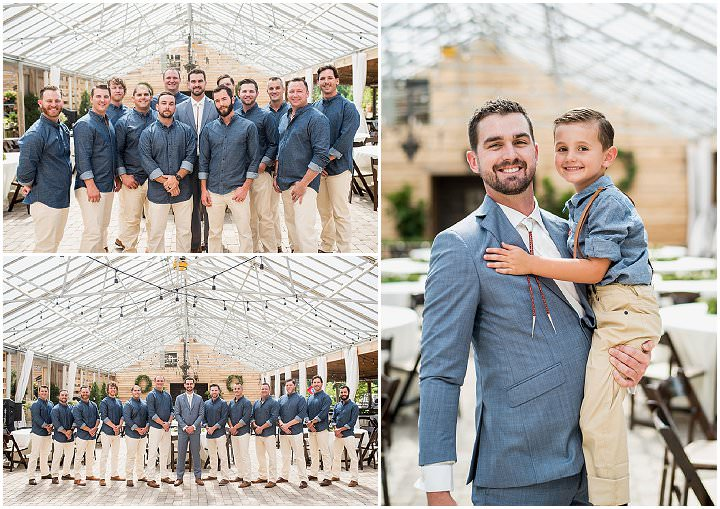 Jessica and Grant'sBlush filled Greenhouse Wedding in Nashville by John Myers Photography