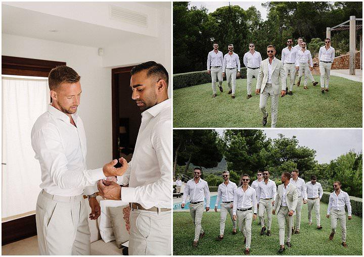 Carmel and Daniel's Romantic All White Ibiza Wedding with Bohemain Touches by Sara Lobla